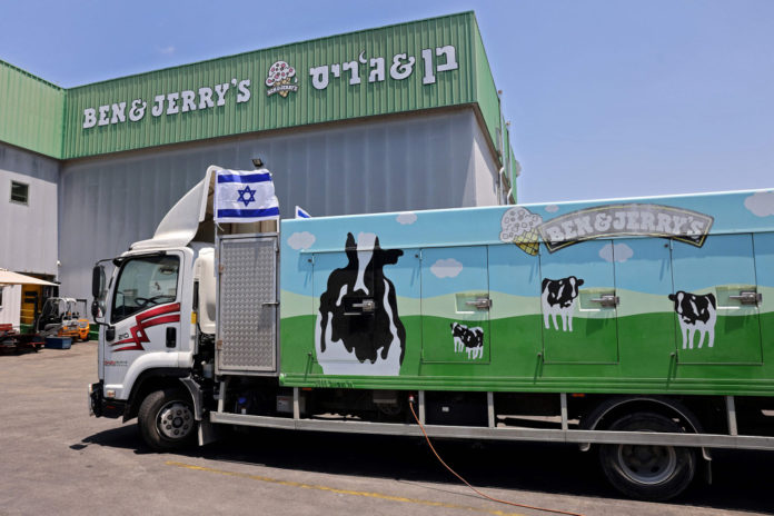 Ben & Jerry's moves to thwart knock-offs of its ice cream in West Bank