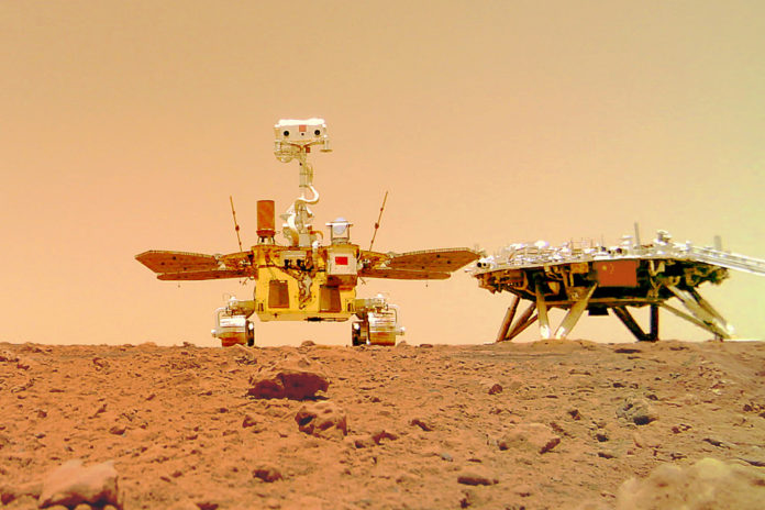 China's Mars rover completes 90-day mission