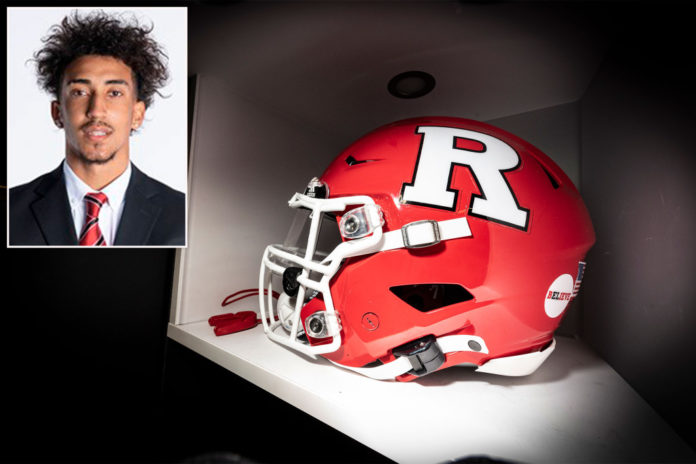 Rutgers football player Peyton Powell to transfer over COVID vaccine mandate