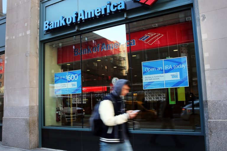Two top execs at Bank of America to retire at year's end